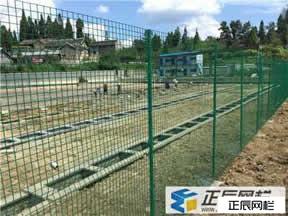 贵州厂区护栏网施工后案例