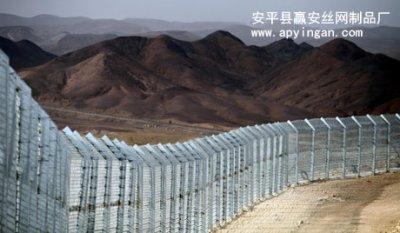 以色列沿以埃边界建成隔离网