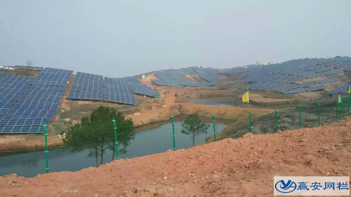 太阳能光伏电站护栏网