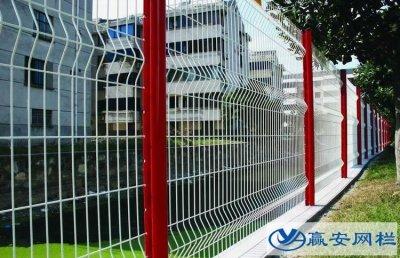 三角折弯护栏网成为小区首选产品