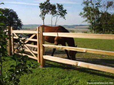 适合马场使用的几种围栏对比