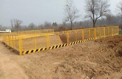 安徽基坑防护网安装施工案