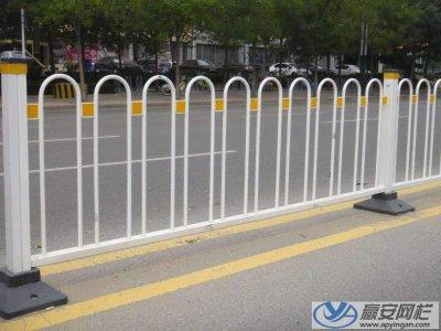 天津北辰市政道路护栏施工