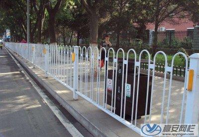 天津东丽京式交通护栏安装