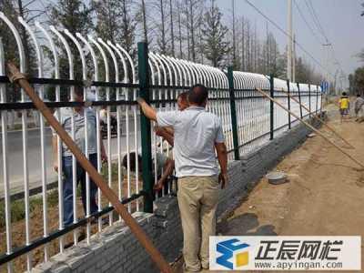 南昌公园施工单折弯锌钢护