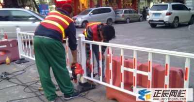 唐山市政护栏工程案例