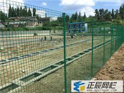 贵州厂区护栏网安装后案例