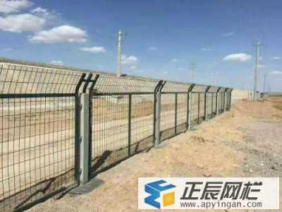 内蒙古铁路护栏网完工案例