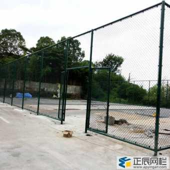 施工现场篮球场围网门图片