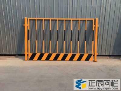 工地基坑护栏一般用什么颜色?
