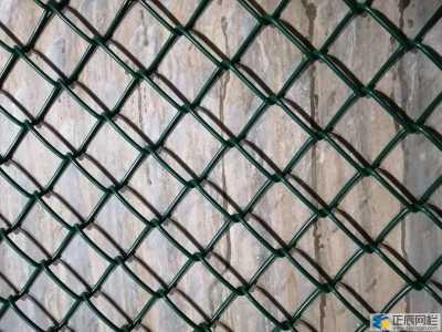 勾花网分包塑和镀锌