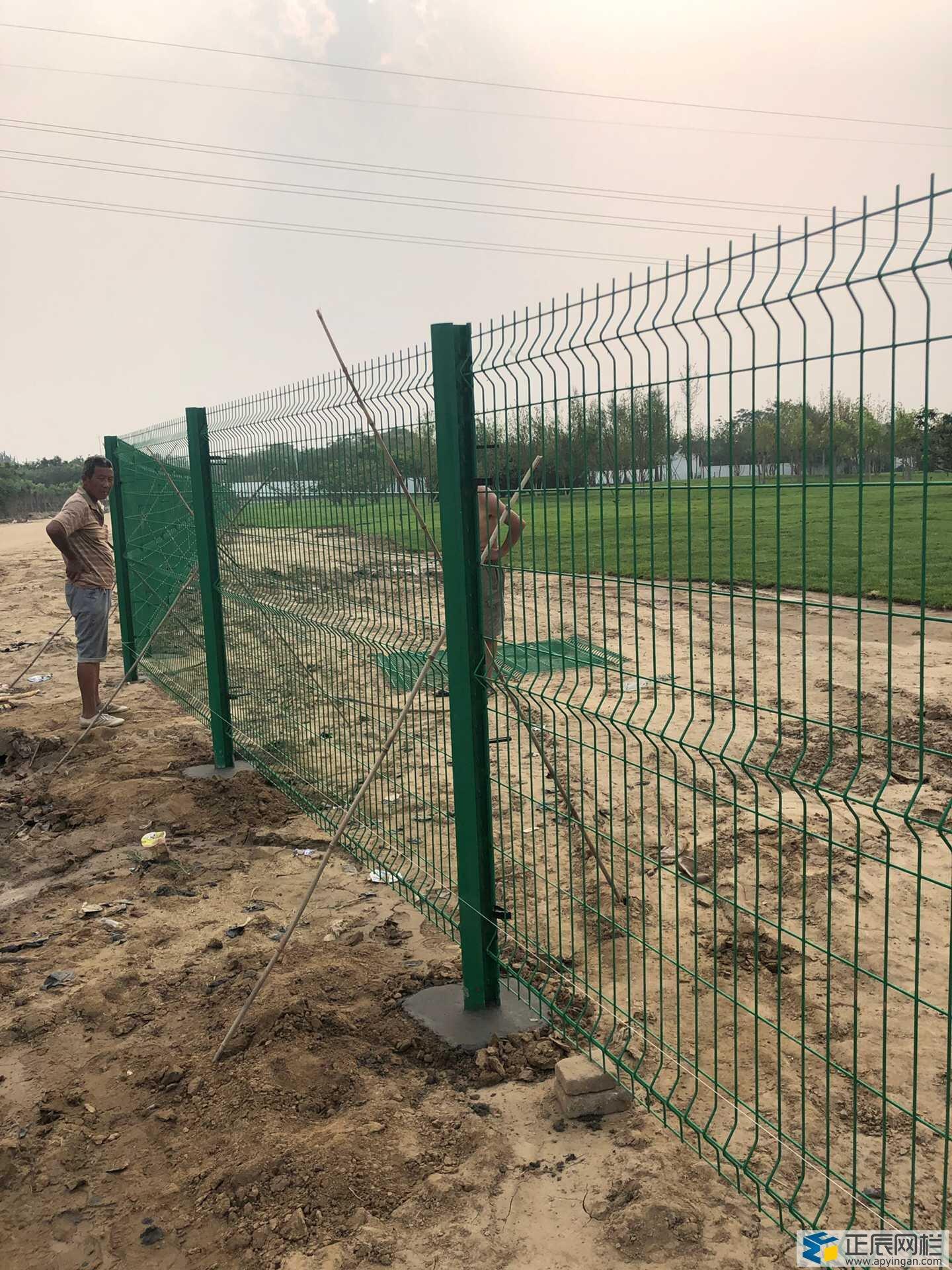 圈地护栏网多少钱一米