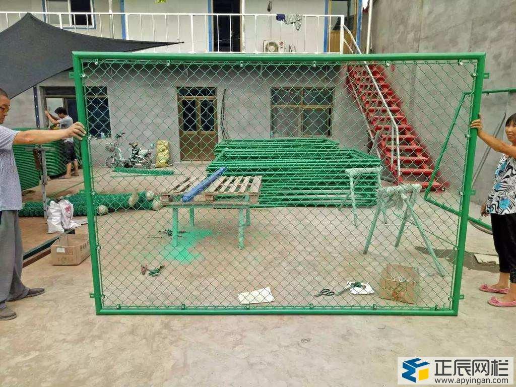 球场框架护栏网图片