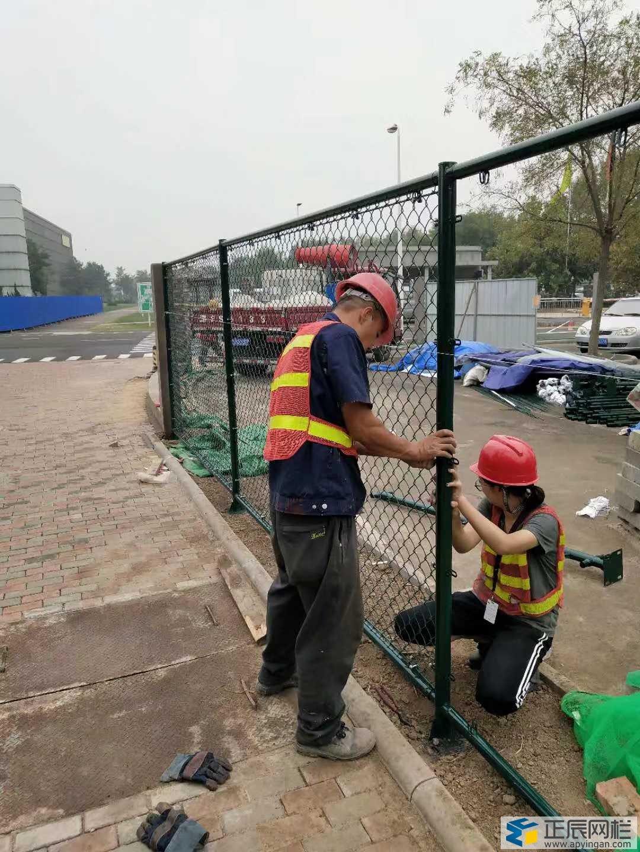 绿网围栏怎么安装