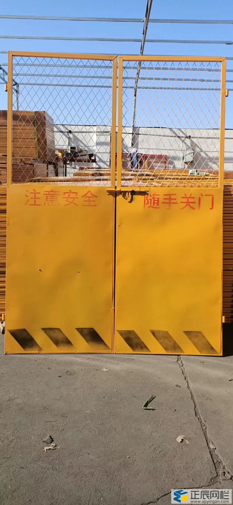 工地电梯门常用规格