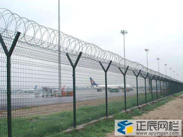 机场护栏网安装施工方法