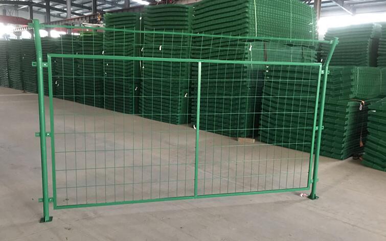 围墙铁栅栏网图片2