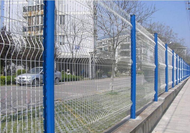 围墙铁栅栏网图片3