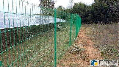 太阳能光伏电站围栏网的标准设计方法