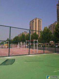 安徽某休闲广场篮球场围网案例
